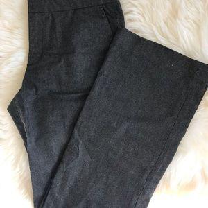 NWOT Gap trouser, 10, jeans metallic.